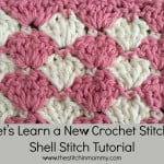 Shell Stitch Tutorial ~ The Stitchin' Mommy