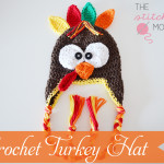 Crochet Turkey Hat ~ The Stitchin' Mommy