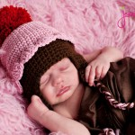 Cupcake Crochet Hat ~ Jenny and Teddy