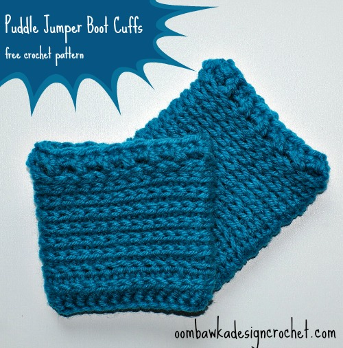Puddle Jumper Boot Cuffs ~ Oombawka Design