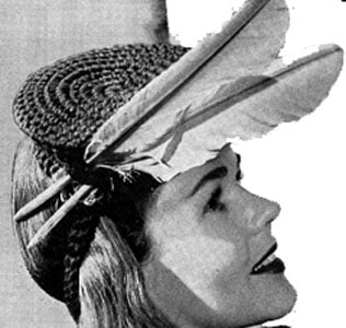 Hat Pattern | No. 2317 ~ FREE Vintage Crochet