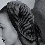 Hat Pattern No. 2322 ~ Free Vintage Crochet
