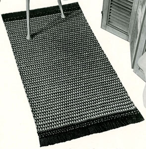 Dot Dot Dash Rug ~ Free Vintage Crochet