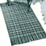 Provincial Rug ~ Free Vintage Crochet