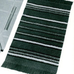 Regimental Stripes Rug ~ Free Vintage Crochet