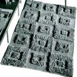 Contemporary Rug ~ Free Vintage Crochet