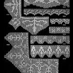 Filet Crochet Edgings ~ Free Vintage Crochet