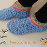 Starlight Women Slippers ~ My Hobby is Crochet