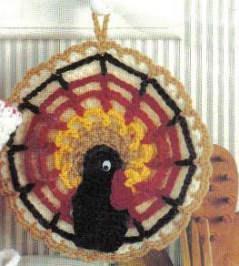 Thanksgiving Potholder ~ MomsLoveOfCrochet
