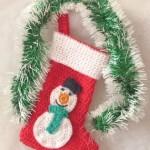Christmas Sock ~ Patterns For Crochet