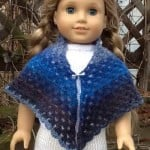 American Girl Doll Granny Shawl ~ ABC Knitting Patterns