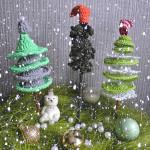 Crochet Christmas Trees ~ Jane Green – Beautiful Crochet Stuff