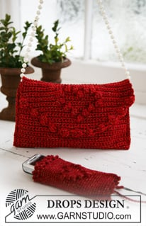 Bag and Cell Phone Pocket for Christmas ~ DROPS Design