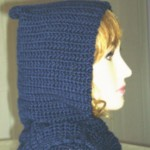 Bernat Satin Hooded Scarf ~ Rhelena - CrochetN'Crafts