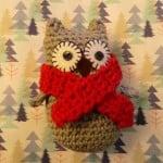Christmas Owl ~ Amigurumi Barmy