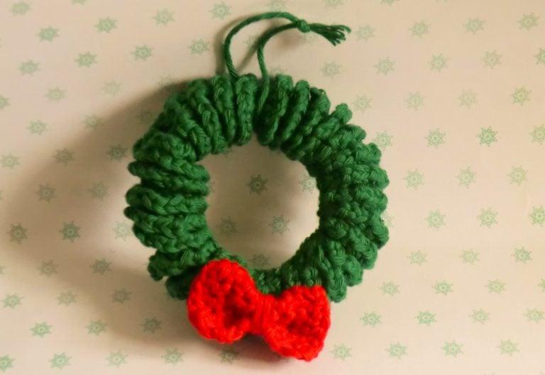 Christmas Wreath ~ Amigurumi Barmy