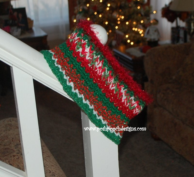 Christmas Cowl ~ Sara Sach - Posh Pooch Designs