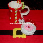 Santa Claus Coaster ~ Sara Sach – Posh Pooch Designs