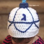 Crochet Dreidel Hat ~ Repeat Crafter Me