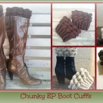 Chunky EP Boot Cuffs ~ Melissa Martin - Buy Hook or By Crook