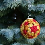 Glory! Christmas Ornament Cover ~ Oombawka Design