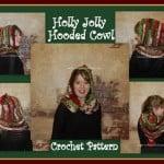 Holly Jolly Christmas Hooded Cowl ~ Sara Sach – Posh Pooch Designs