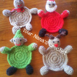 Christmas Coasters ~ Knot Your Nana's Crochet