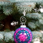 Joy! Festive Christmas Ornament Cover ~ Oombawka Design