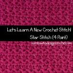 Star Stitch – Marguerite Stitch ~ Oombawka Design