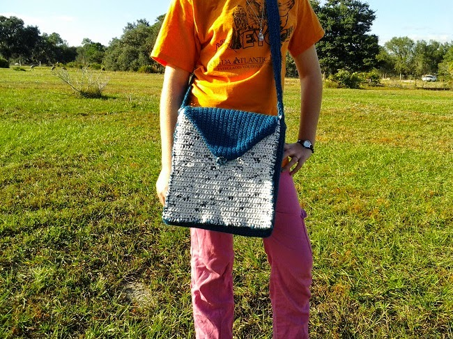 Mixed Material Bag ~ Crochet is the Way
