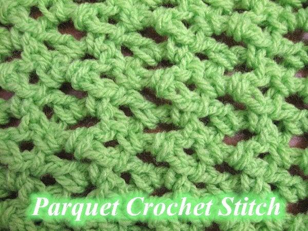 Crochet Stitches Meladora : Parquet Crochet Stitch ~ Crochet Video Tutorial