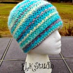 Simple Sweetness Crochet Beanie ~ Kathy Lashley - ELK Studio