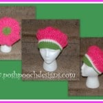 Strawberry Shortcake Beret Hat ~ Sara Sach – Posh Pooch Designs