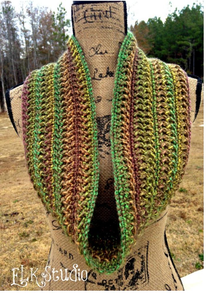 Cascade Pinwheel Yarn & Cowl ~ Kathy Lashley - ELK Studio