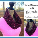Farbe Partie Cowl and Yarn Review ~ Kathy Lashley - ELK Studio