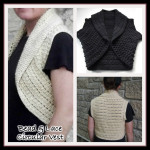 Bead and Lace Circular Vest ~ Rhelena – CrochetN'Crafts