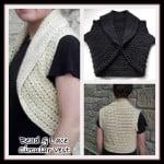 Bead and Lace Circular Vest ~ Rhelena – CrochetN'Crafts