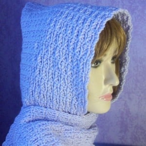 Beginner Chain Stitch Hooded Scarf ~ Rhelena - CrochetN'Crafts