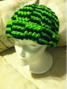 Crochet Stocking Hat ~ Treasures Made From Yarn