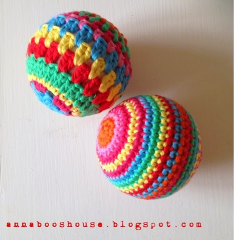Crochet Balls ~ Annaboo's House