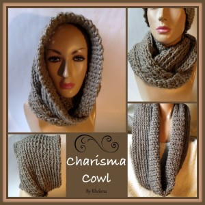 Charisma Cowl ~ Rhelena - CrochetN'Crafts