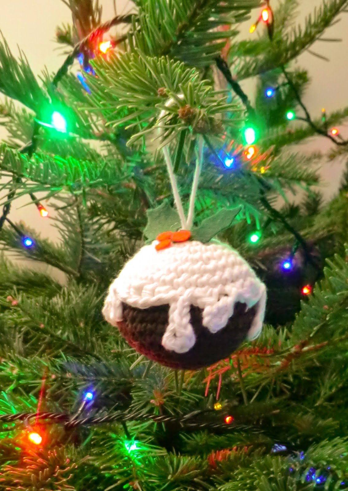 Christmas Pudding ~ Amigurumi Barmy