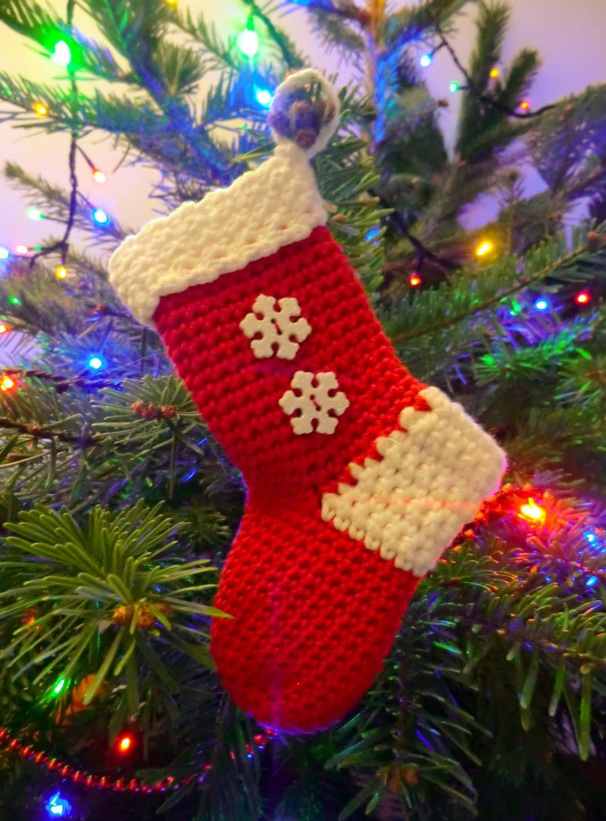 Christmas Stocking ~ Amigurumi Barmy