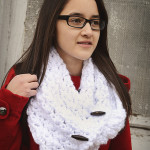 Diamond Dust Cowl ~ Rebecca Langford - Little Monkeys Crochet