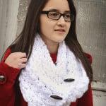 Diamond Dust Cowl ~ Rebecca Langford – Little Monkeys Crochet