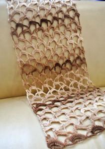 How To Crochet A Lace Scarf ~ Jane Green - Beautiful Crochet Stuff