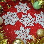 5 Free Crochet Snowflakes ~ Jane Green - Beautiful Crochet Stuff