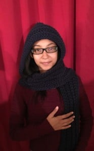 Keep Me Warm Hooded Scarf ~ Hooking is a Lifestyle