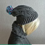 Crochet Infinity Scarf And Crochet Beanie ~ Jane Green - Beautiful Crochet Stuff