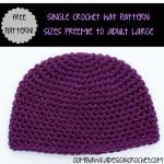Single Crochet Hat ~ Oombawka Design